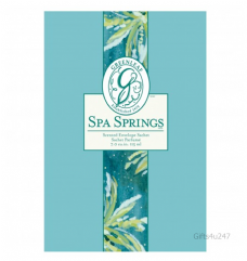 Greenleaf & Bridgwater SPA SPRINGS  Large Scented Envelope Sachet